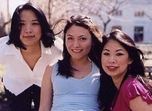 Red Doors Filmmakers (from left) Jane Chen, Mia Riverton, and Director Georgia Lee