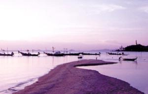 Bophut Beach. Samui, Thailand.