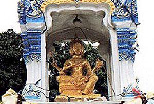 Brahma Spirit House, Ban Chang, Thailand.