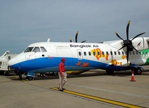 Bangkok Air runs several daily flights between Bangkok and Siem Reap.