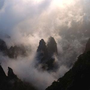 Huangshan (Yellow Mountains), Anhui Province, China.