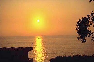 Sunrise in Qui Nhon. Vietnam's long coastline offers many spectacular sunrises.