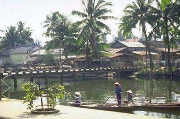 The Thu Bon River at Hoi An.