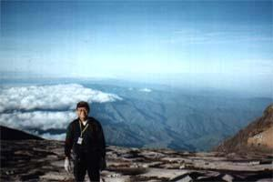 On Top of The World on Mount Kinabalu.