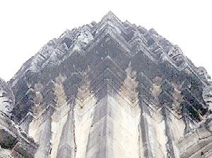 The Central Tower From Below. Phimai, Thailand.