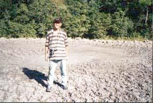 At The Mud Volcano Site