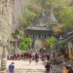 Tapsa Temple on Mount Maisan