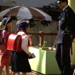 Uniforms seem to offer the people of Japan a sense of purpose and belonging. School children, public servants, and even the majority of private business employees all wear them with pride.
