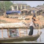 Kompong Chan scene, Tonle Sap river, Cambodia
