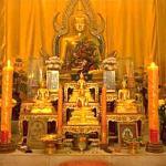 Siamese temple, Pulau Ubin, Singapore