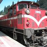 Alishan Forest Railway, Alishan, Chiayi County, Taiwan.