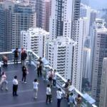 Observation deck on Victoria Peak.