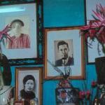 Five generations of expert fish chefs at the Cha Ca La Vong Restaurant, Hanoi, Vietnam.