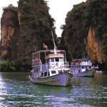 Phang Nga Bay. Thailand.