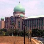 Putrajaya, Malaysia. Administration complex.
