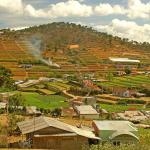 A view of the countryside, Dalat, Vietnam.