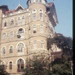 One of Mumbai's many fine old sandstone buildings