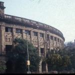 The sandstone façade of Bombay's Prince of Wales Museum