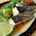 Grilled Trout with Sweet Chili Sauce