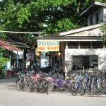 bicycle rental at Pulau Ubin