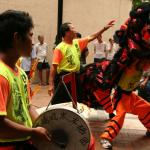 Dragon Dance and Drummer