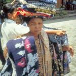 """Sarong vendor, """"Cheap price for you, Boss."""""""