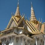 The magnificient golden roof of the 100 year old Royal Palace.