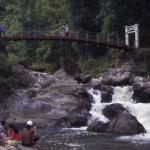 Rapids leading to Cat Cat Falls