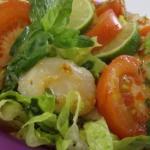 Spicy Thai Scallop Salad