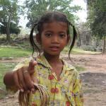 A Trader Tot of Angkor Wat
