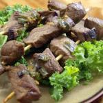 Mongolian Barbequed Yak Kebabs