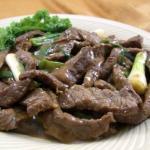 Mongolian Yak Stir-Fry