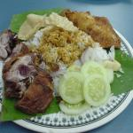 Another plate of nasi kandar
