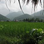 Green rice fields, misty mountains, peaceful river - no wonder Pai is called the Switzerland of Thailand.