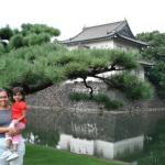 Moats and walls surround the Imperial Palace