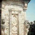 Main gopuram, Vadaraja Temple.  Kanchipuram, India.