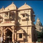 The ancient temple of Somnath. Somnath, Gujarat, India