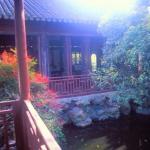 Wuxi, Jiangsu, China: The Big Li Chamber, in Yihui Park, is a mini-garden within a garden.