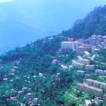 Deorali, Sikkim, India: Sheri village, near Deorali, enjoys magnificent views.