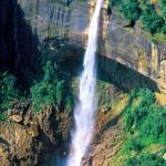 Cherrapunji, Meghalaya, India: The Nohkalikai Falls, said to be the world's fourth tallest.