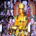 Avalokitesvara, Boddhisattva of Perfect Compassion, at Naksansa Temple.