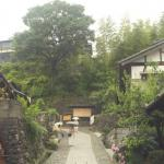 """Kiso Valley, Japan: The trail leads up through """"Old Magome""""."""