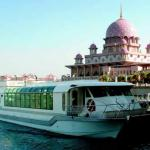 Lake cruise with a scenic view of Putrajaya in the background