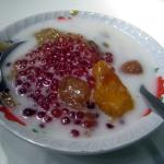 traditional dessert of Indonesia: kolak