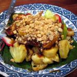 traditional dessert of Indonesia: rujak