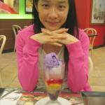 Halo-halo and the happy dessert lover