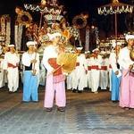 Loi Krathong Festival Parade in Chiang Mai Thailand