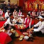 A traditional Khantoke dinner in Chiang Mai Thailand
