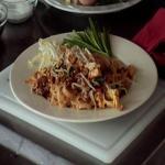 Phad Thai or Thai fried noodles
