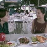 Ning and Mel at the Chiang Mai Floating Restaurant